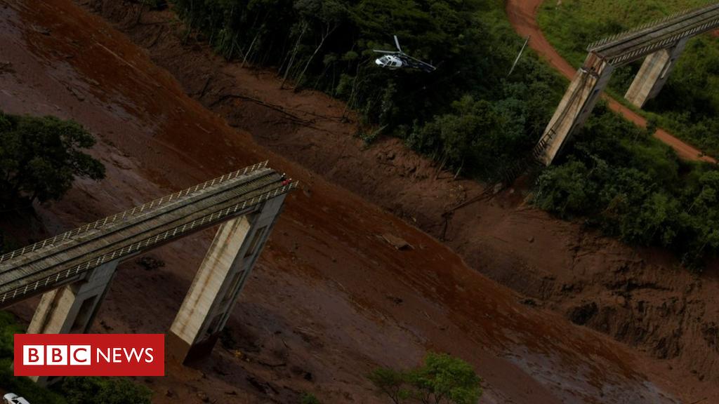 Deadly dam collapse in Brumadinho, Brazil - Americas